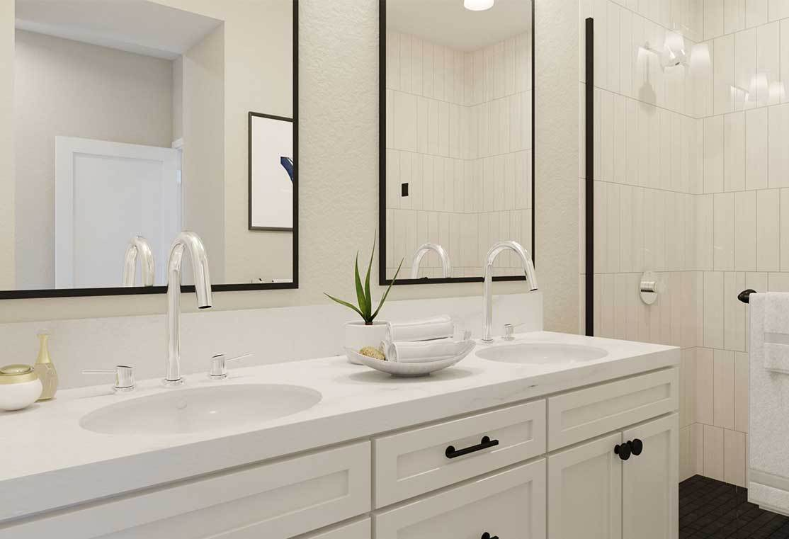 Bathroom featured in the Residence C By TRI Pointe Homes in San Francisco, CA