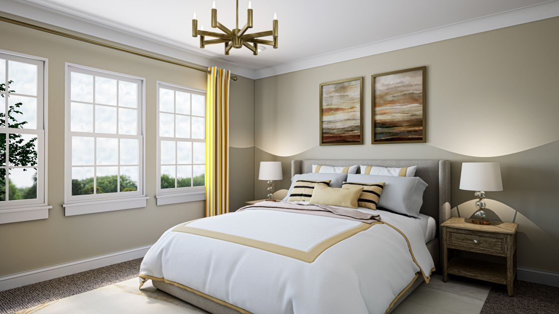 Bedroom featured in the Residence 1 By TRI Pointe Homes in Raleigh-Durham-Chapel Hill, NC