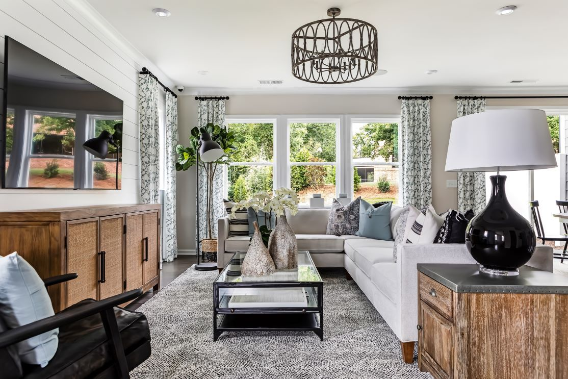 Living Area featured in the Residence 4 By TRI Pointe Homes in Charlotte, SC