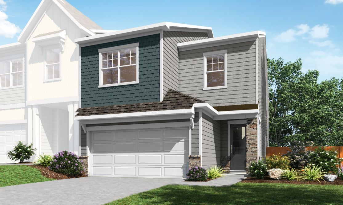 Exterior featured in the Residence 5 By TRI Pointe Homes in Charlotte, SC