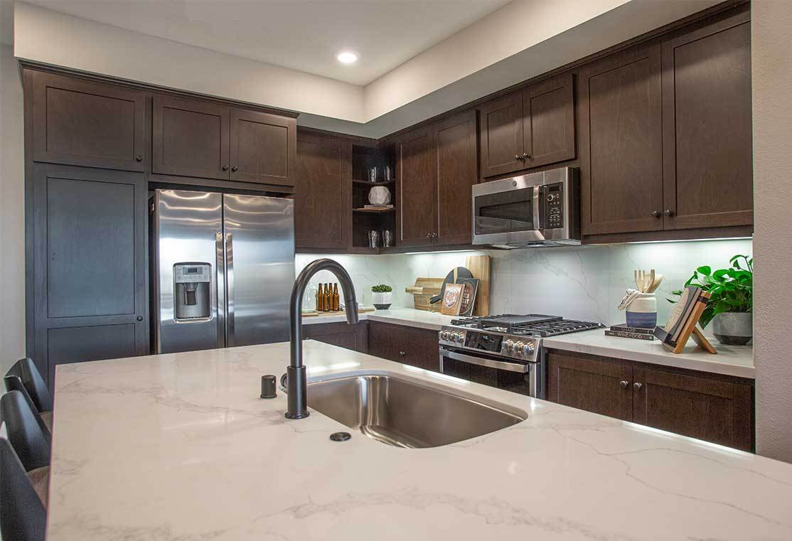 Kitchen featured in the Residence 1 By TRI Pointe Homes in Oakland-Alameda, CA
