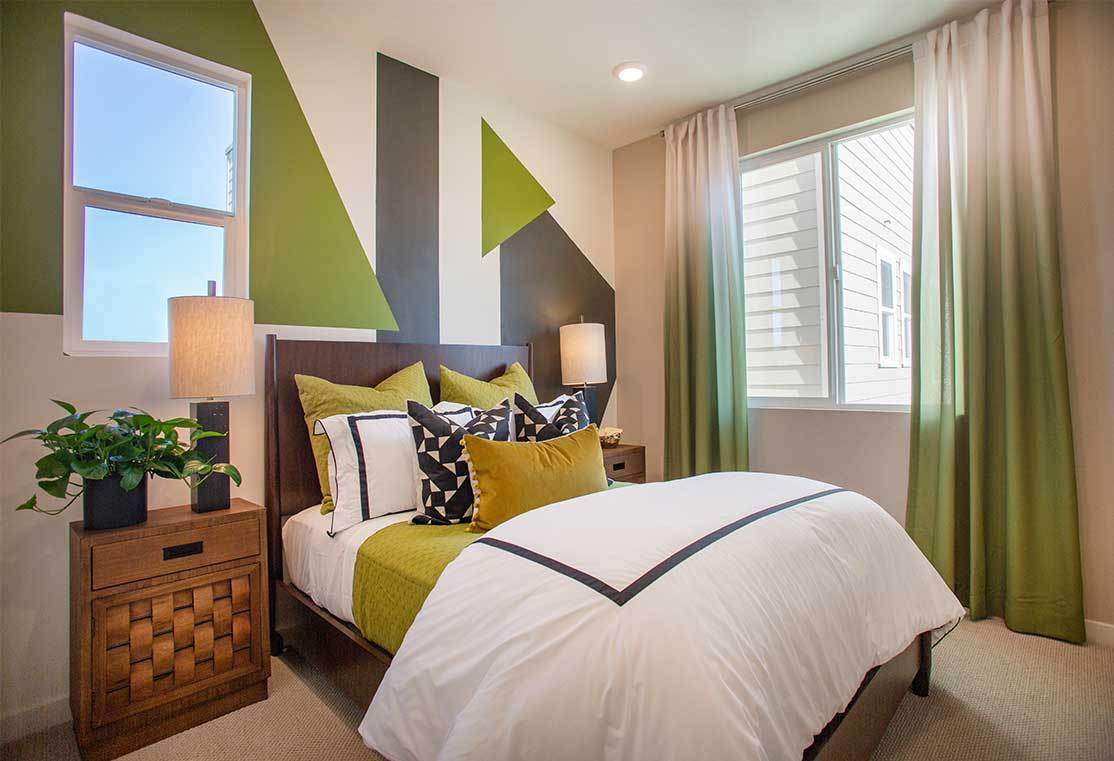 Bedroom featured in the Residence 2 By TRI Pointe Homes in Oakland-Alameda, CA