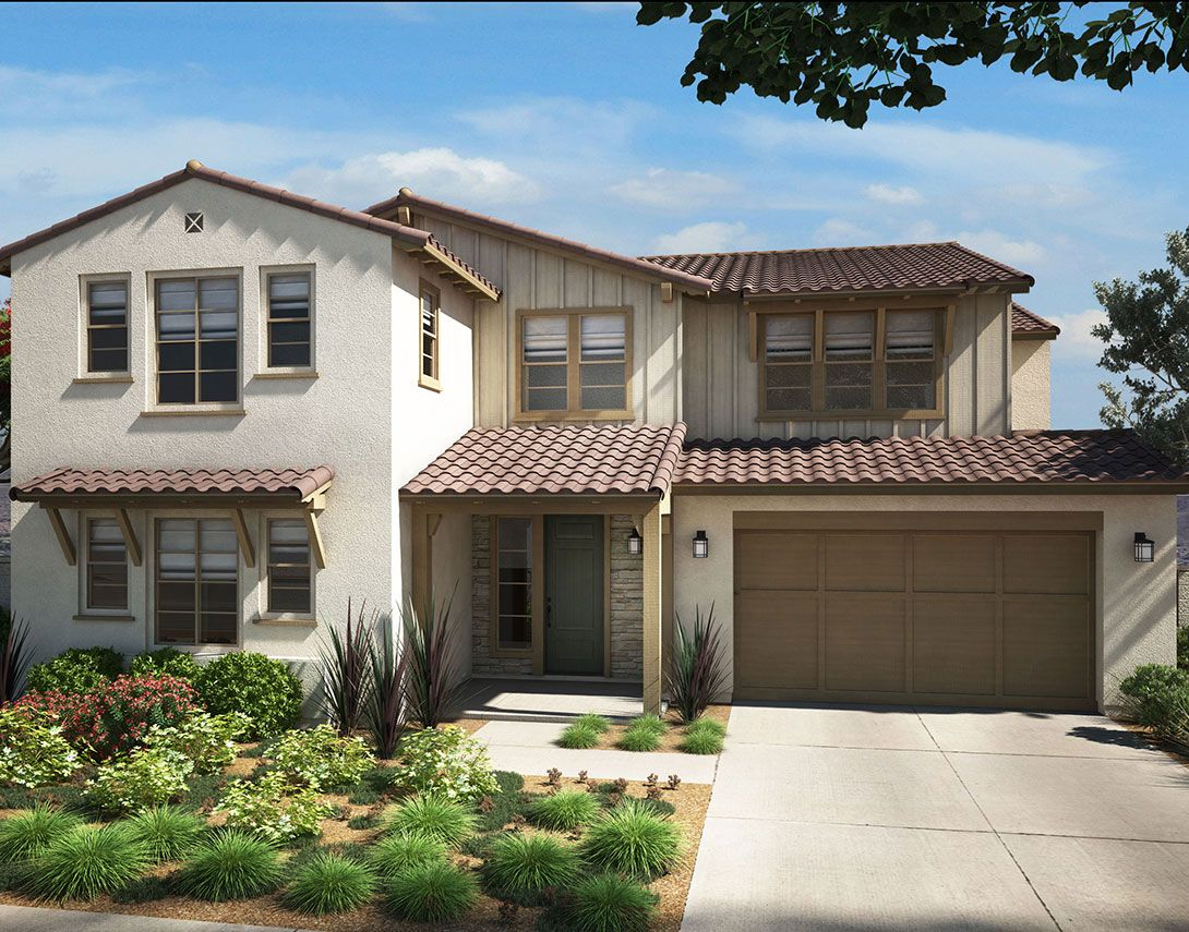 Exterior featured in the Arista Plan 3 By Tri Pointe Homes in Los Angeles, CA