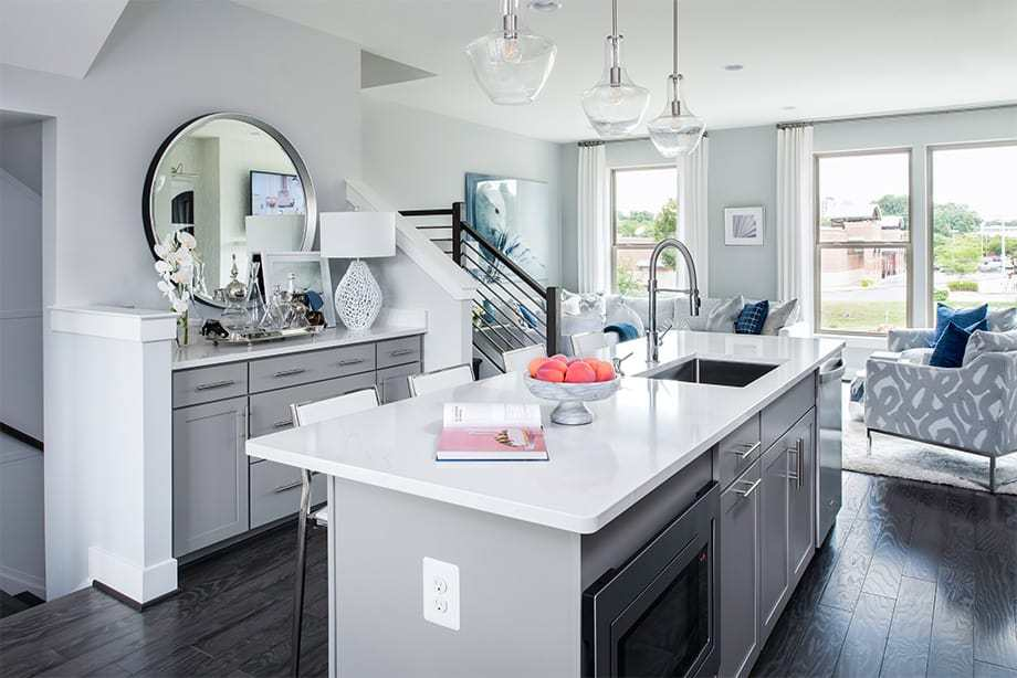 Kitchen featured in the Montrose By Tri Pointe Homes in Washington, MD
