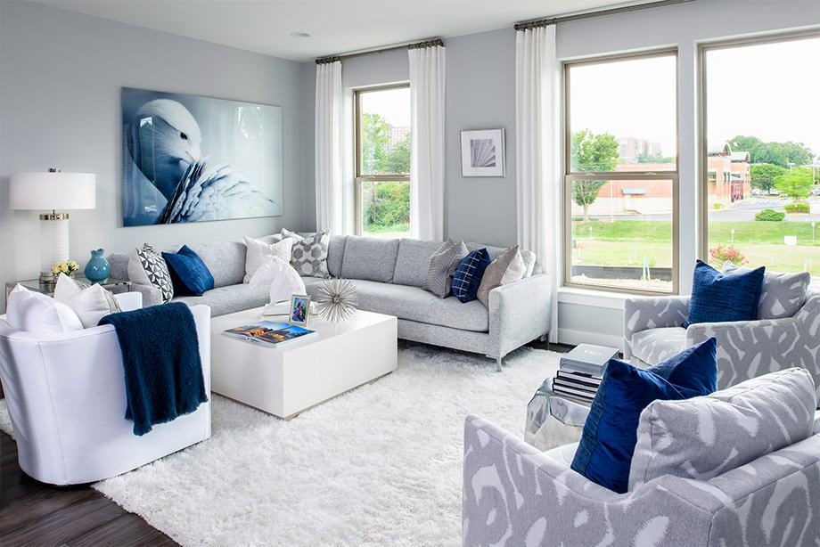 Living Area featured in the Montrose By Tri Pointe Homes in Washington, MD