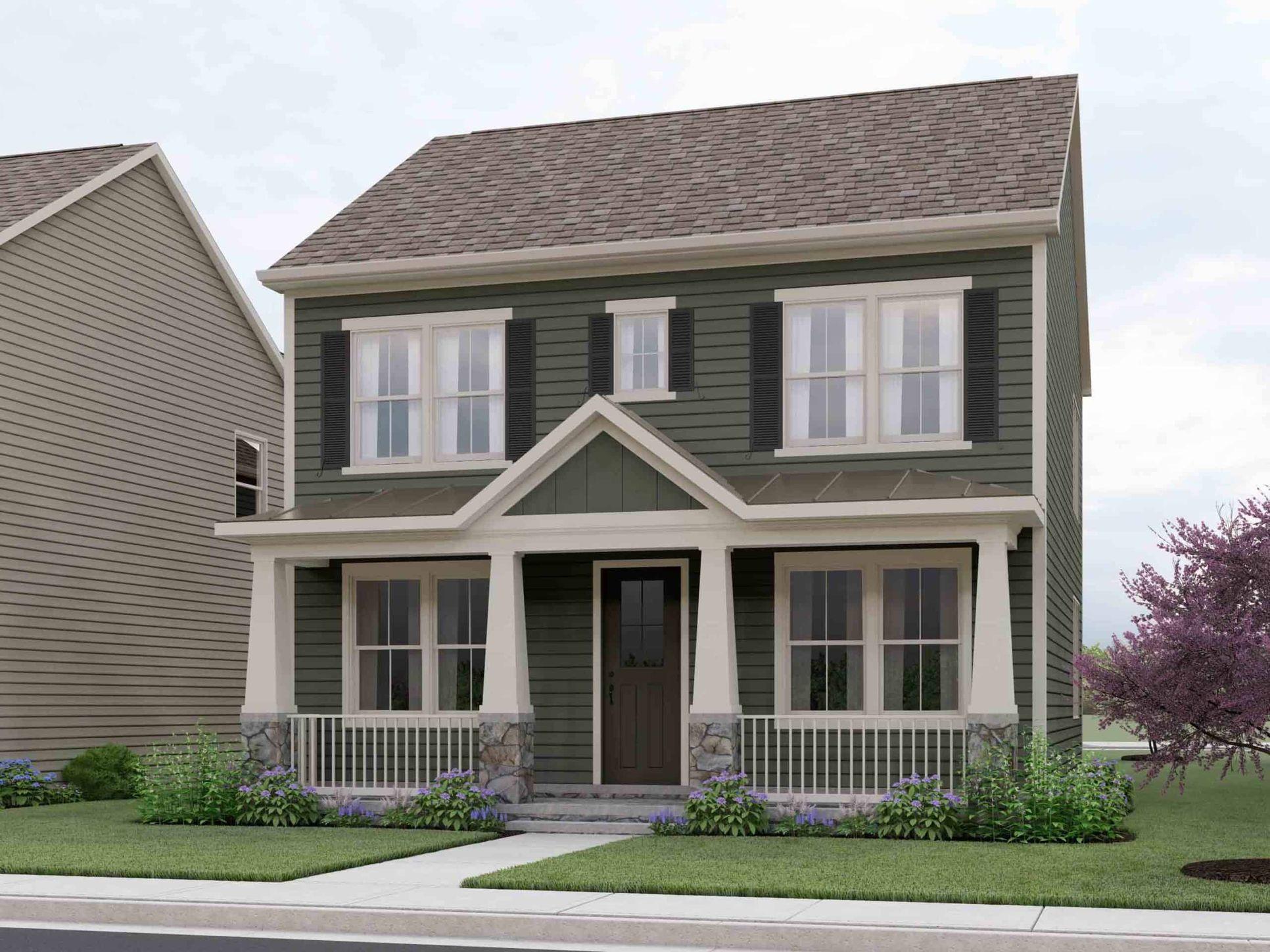 WH-residence-Madison-Optimized-new-scaled-1:The Madison - Elevation 3