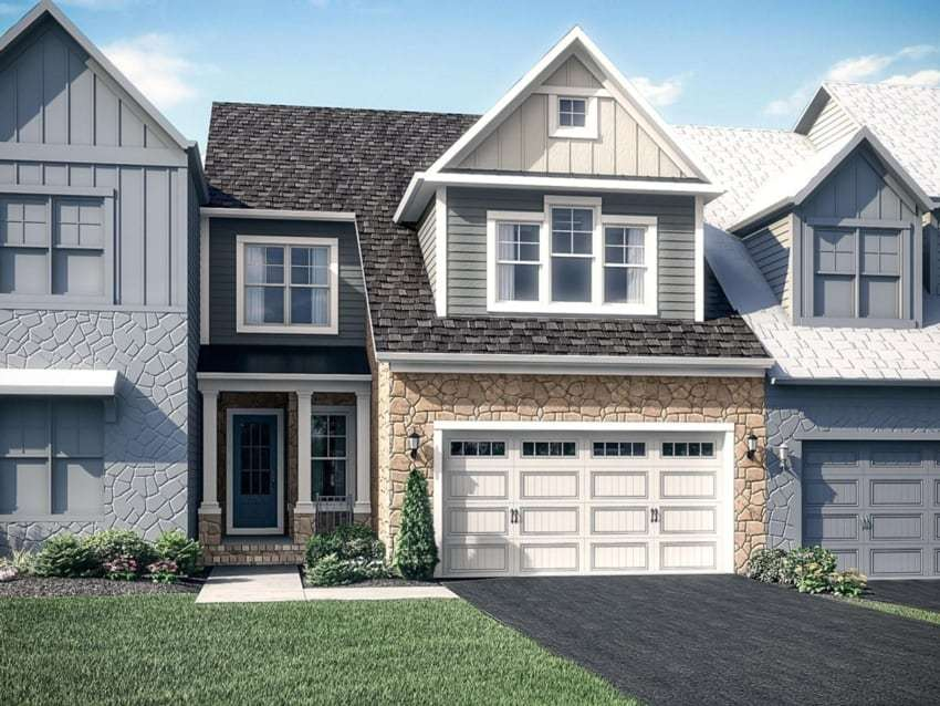 The Fairwinds by Winchester Homes - Elevation 02