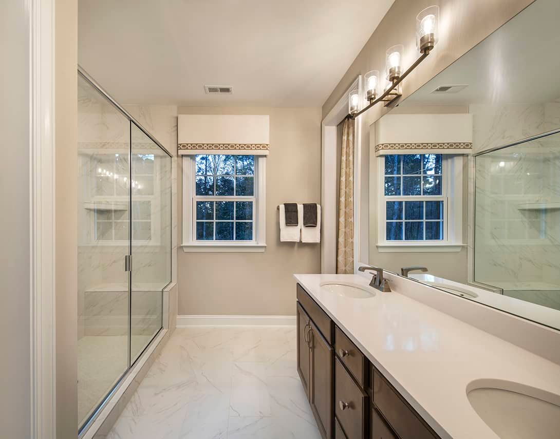 Bathroom featured in the Residence 2 By Tri Pointe Homes in Raleigh-Durham-Chapel Hill, NC