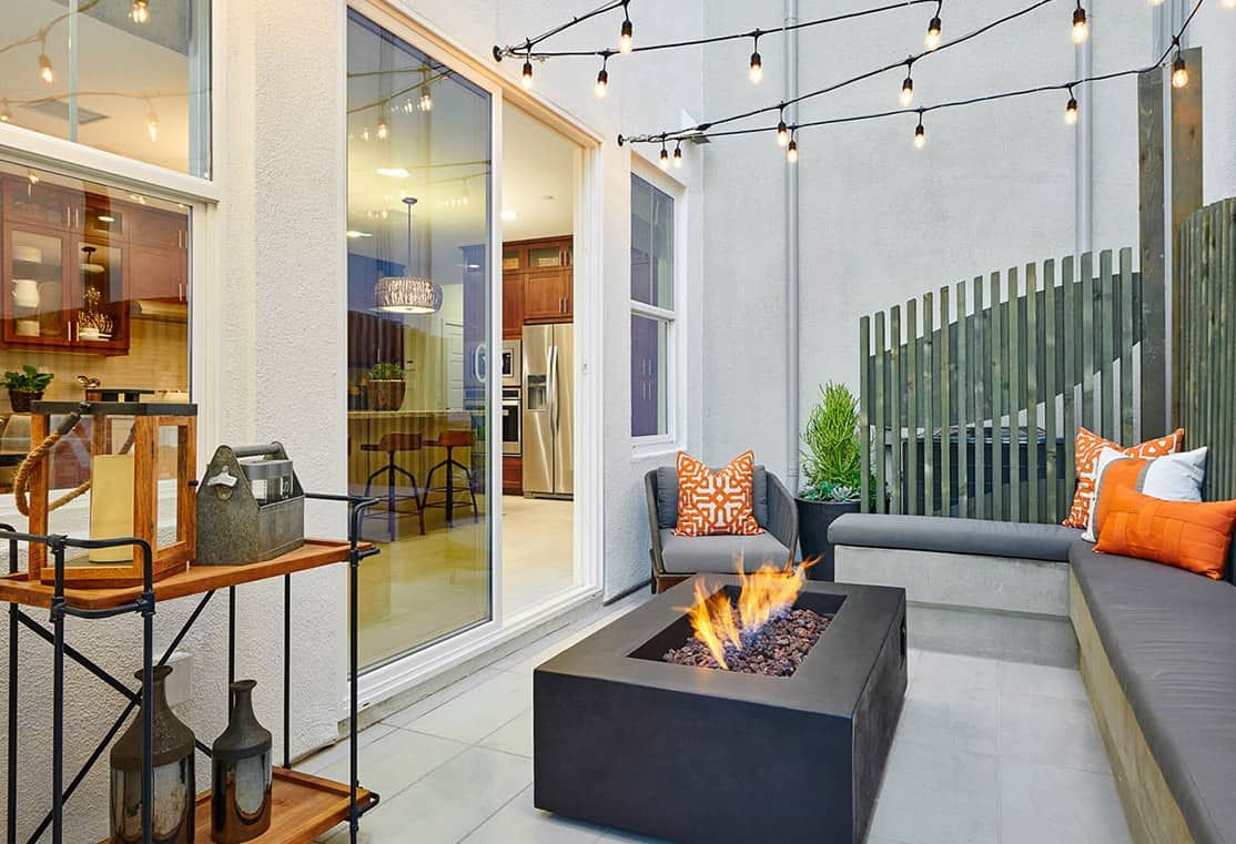 Front Patio Options