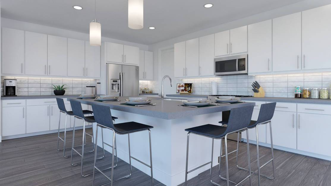 Kitchen featured in the Plan 5807 By Tri Pointe Homes in Denver, CO