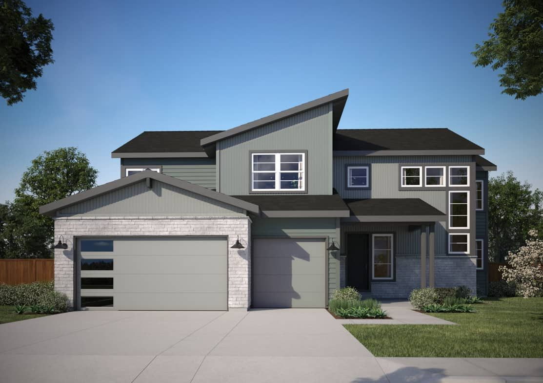 Exterior featured in the Plan 5803 By Tri Pointe Homes in Denver, CO