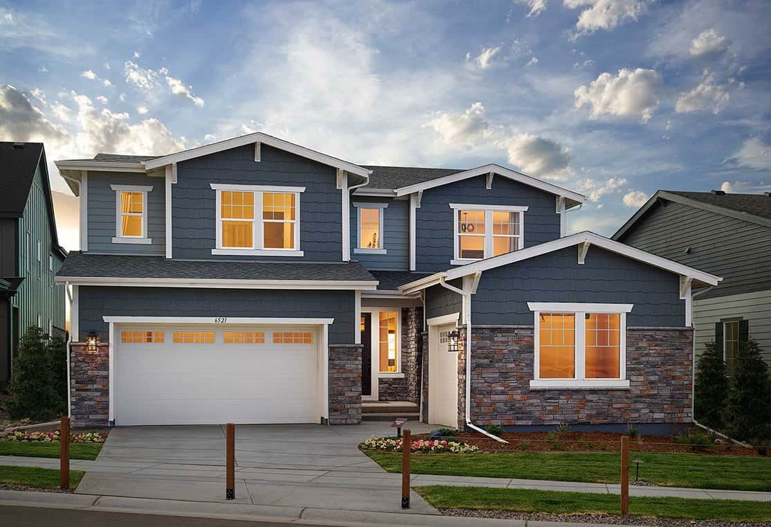 'Solis at The Canyons' by Tri Pointe Homes Colorado in Denver