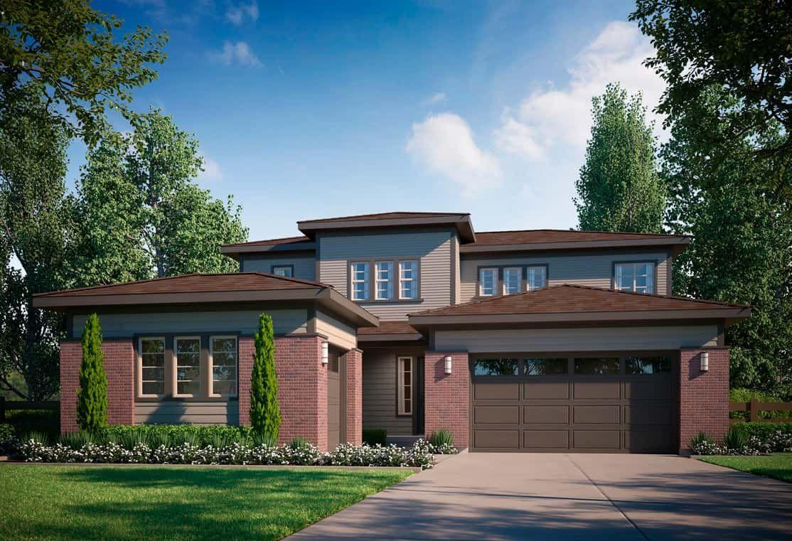 Exterior B - Modern Prairie:Example of Residence 4502 | Modern Prairie