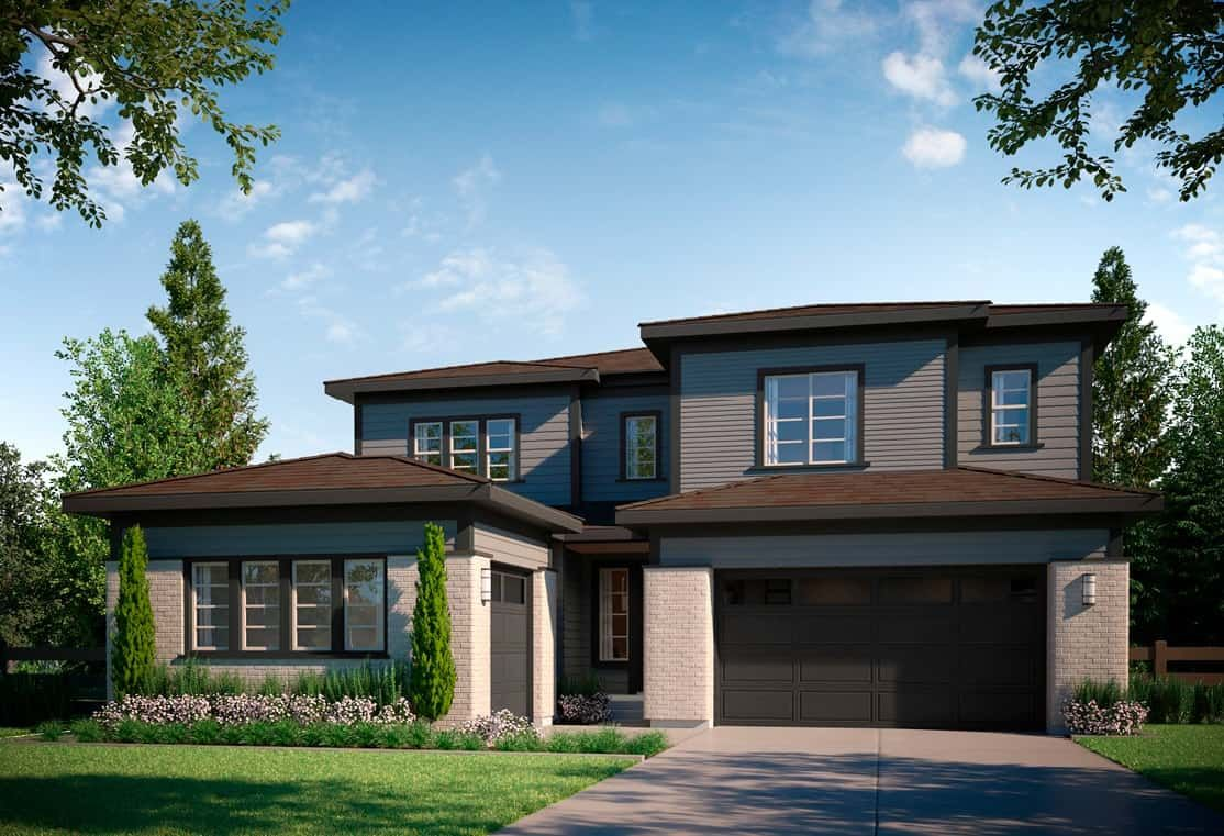Exterior featured in the Residence 4505 By Tri Pointe Homes in Denver, CO