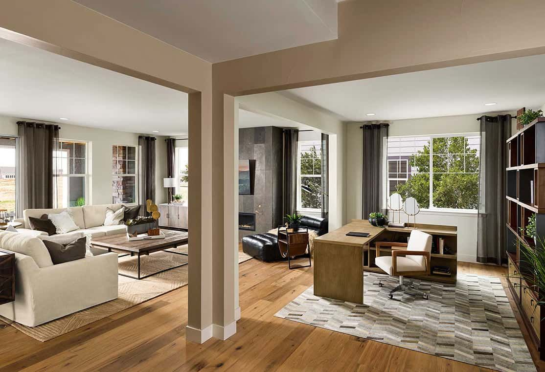 Living Area featured in the Residence 4505 By Tri Pointe Homes in Denver, CO