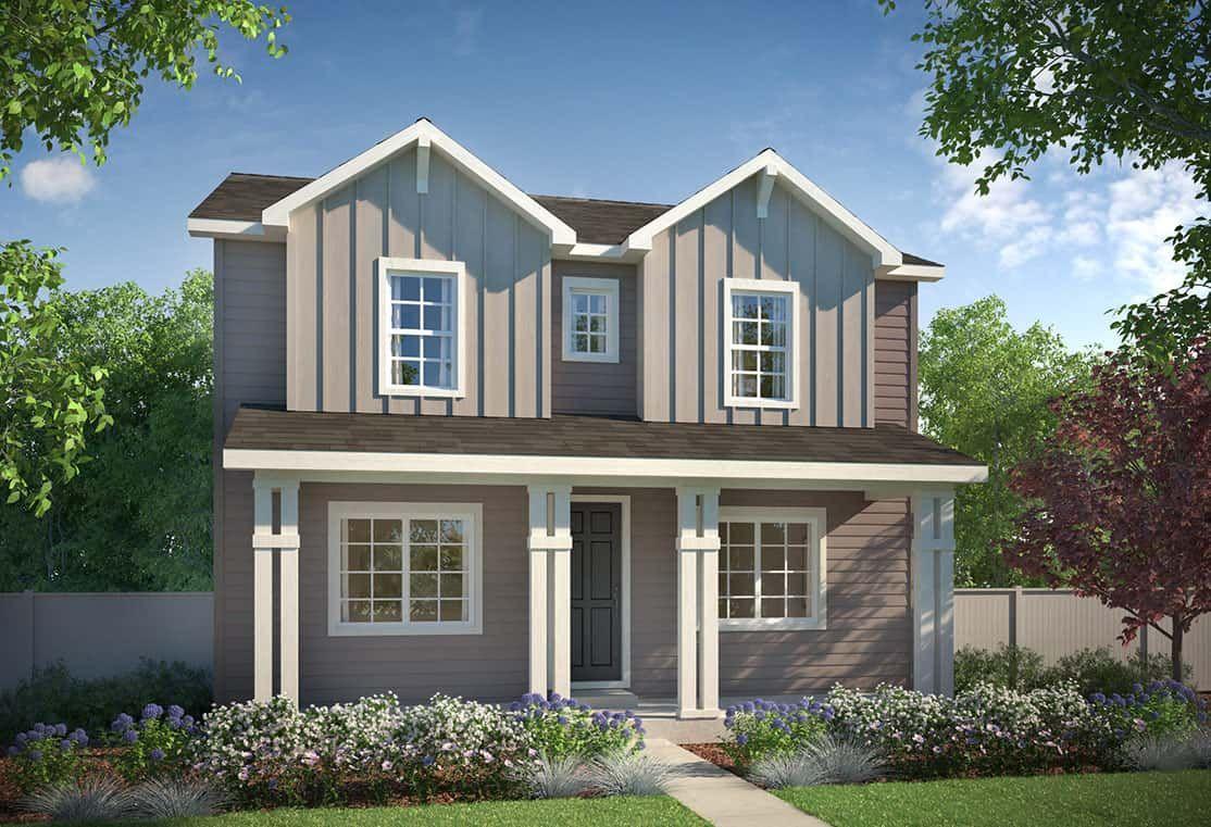 Exterior A - Farmhouse:Plan 3205 - Farmhouse