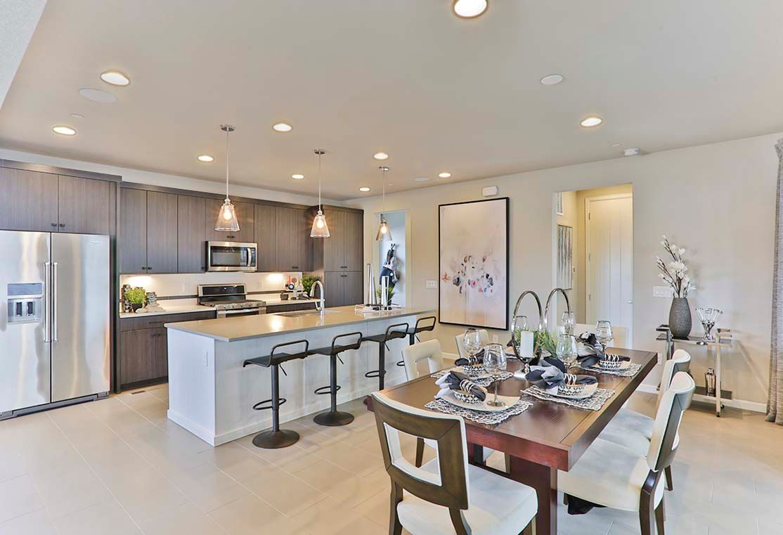 Kitchen featured in the Residence 3204 By Tri Pointe Homes in Denver, CO