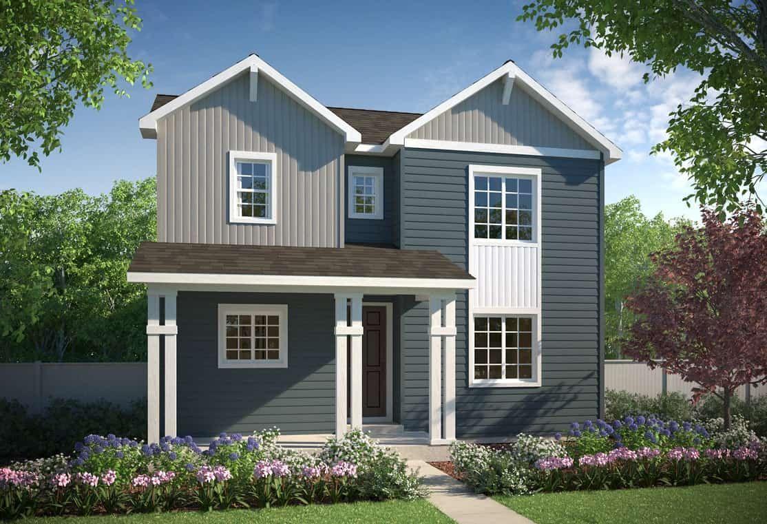 Exterior A - Farmhouse:Plan 3201 | Farmhouse