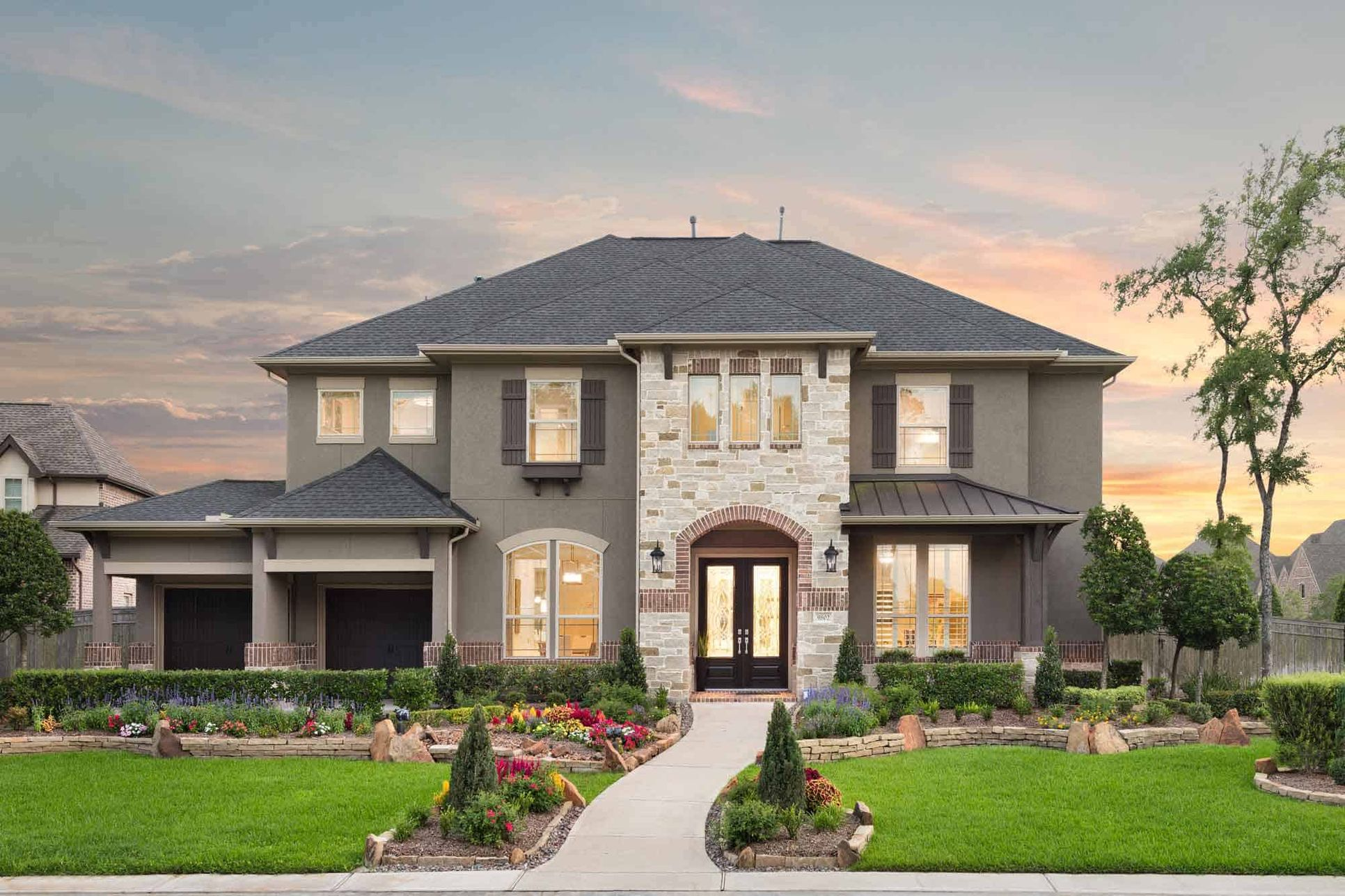 TMH-residence-Trendmaker-9802-Maroon-Peak-Missoury:Representative Only | Lucca Model Plan | Elevation U
