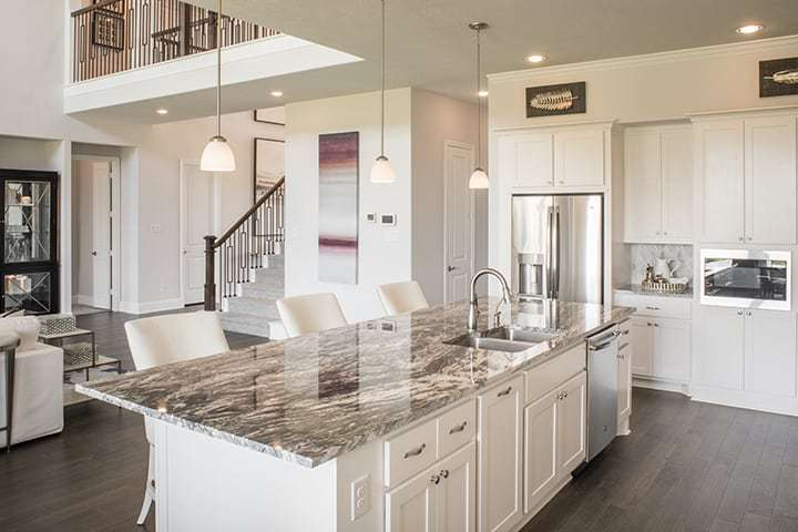 Kitchen featured in the Casoria By Tri Pointe Homes in Houston, TX