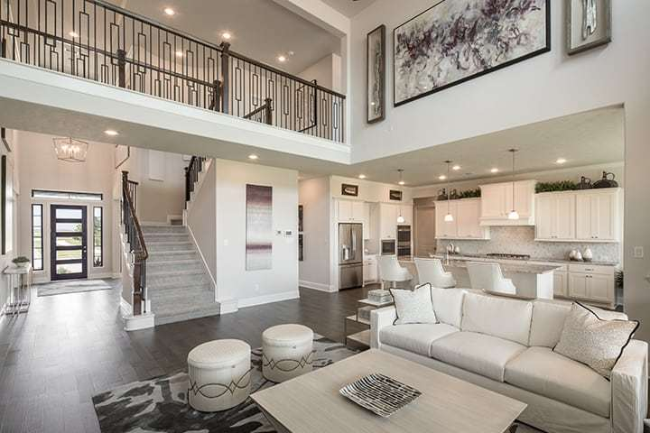 Living Area featured in the Casoria By Tri Pointe Homes in Houston, TX