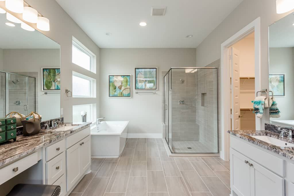 Bathroom featured in the Carignan By Tri Pointe Homes in Houston, TX