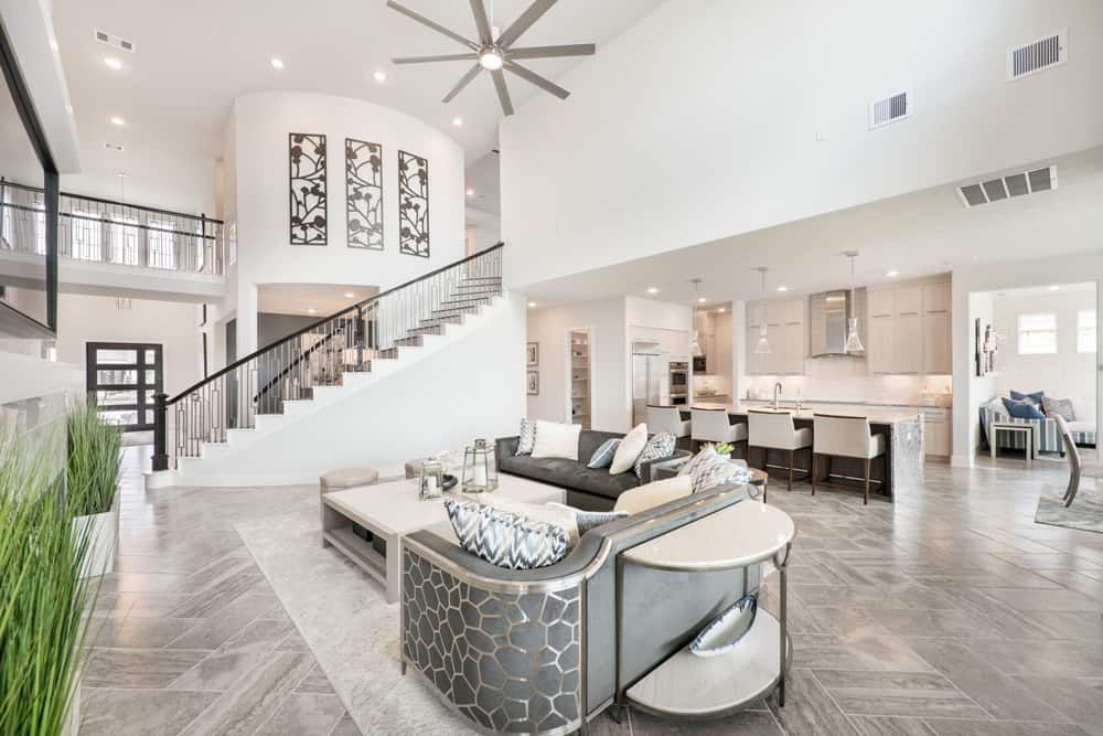 Living Area featured in the Verona By Tri Pointe Homes in Houston, TX