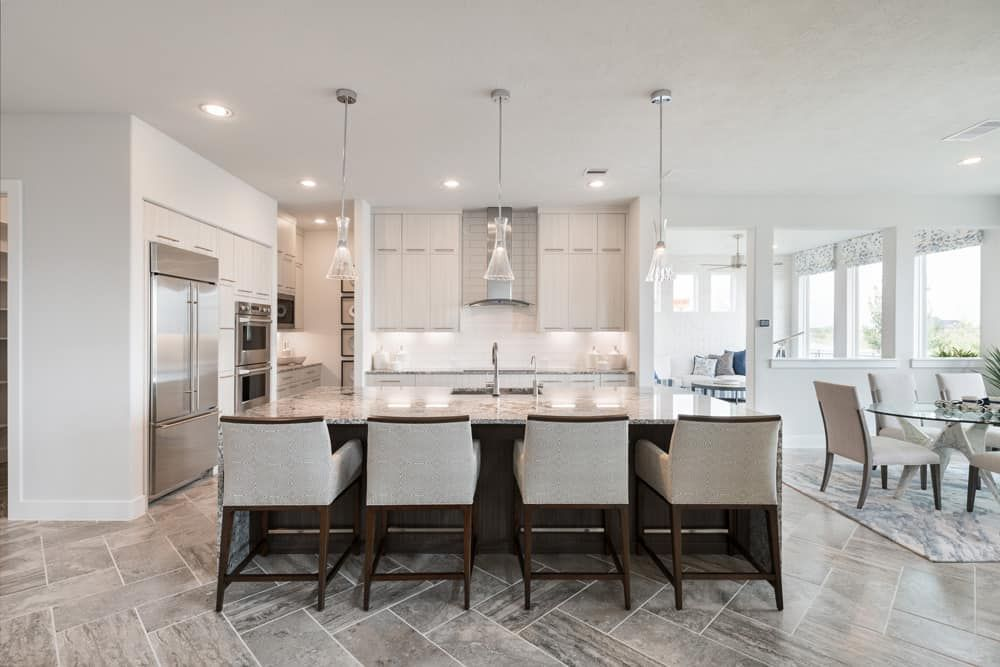 Kitchen featured in the Verona By Tri Pointe Homes in Houston, TX