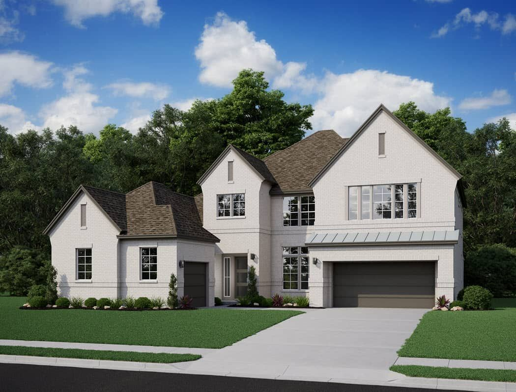 Exterior featured in the Snyder By Tri Pointe Homes in Houston, TX