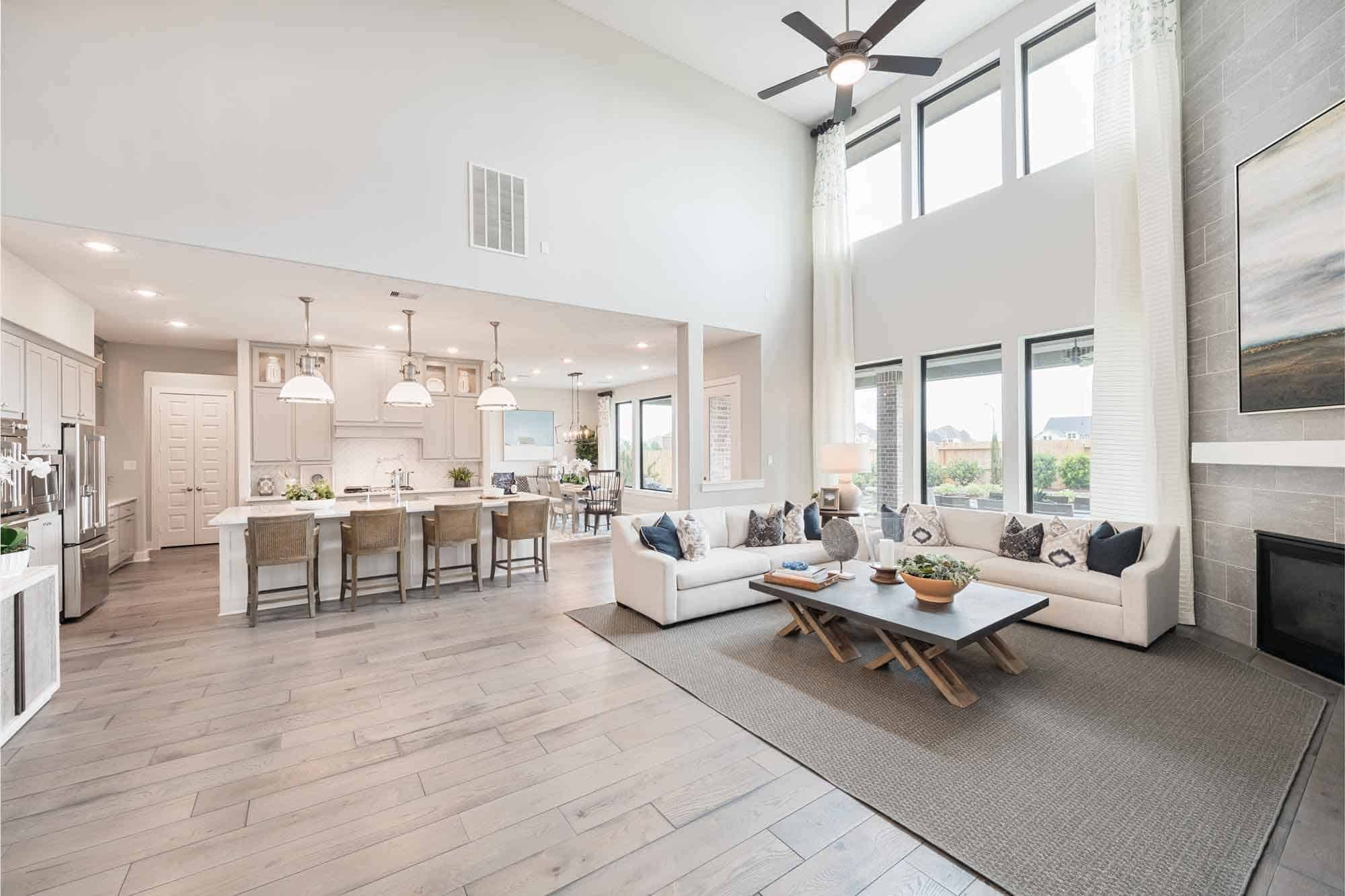Living Area featured in the Snyder By Tri Pointe Homes in Houston, TX