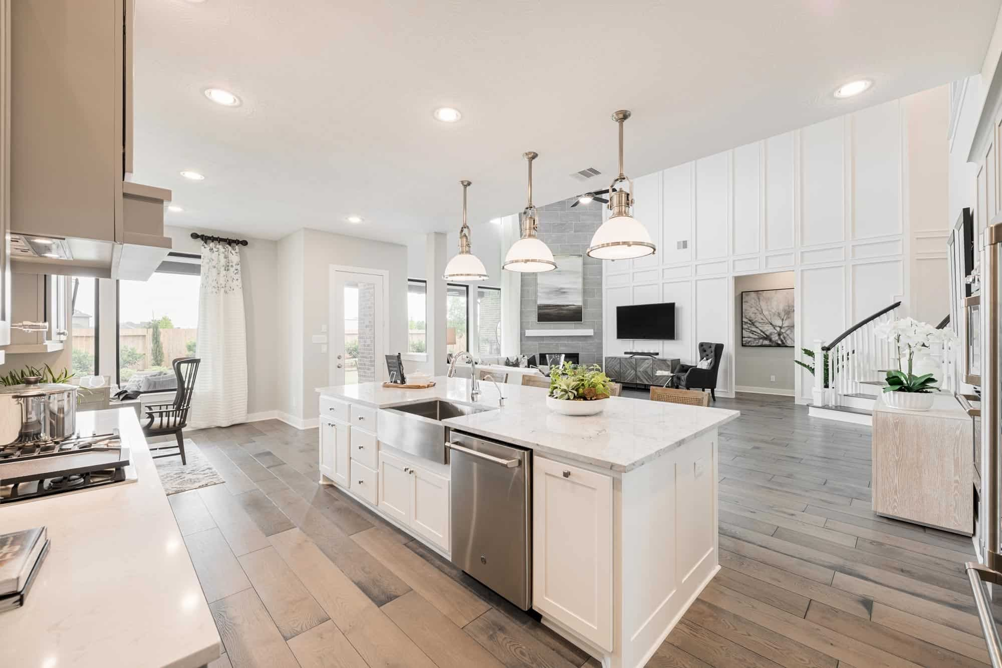Kitchen featured in the Snyder By Tri Pointe Homes in Houston, TX