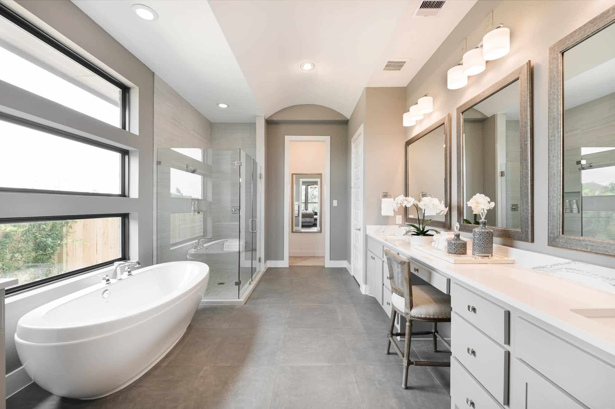 Bathroom featured in the Snyder By Tri Pointe Homes in Houston, TX