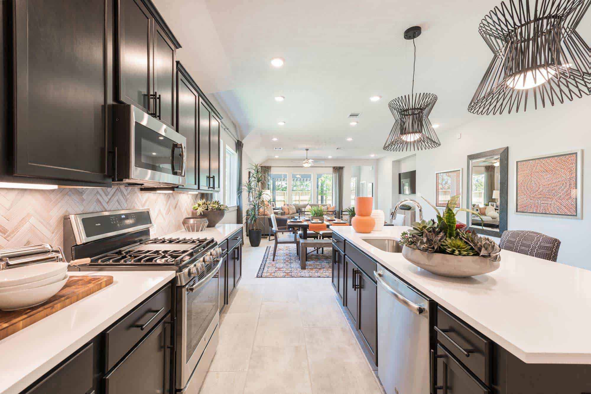 Kitchen featured in the Harrier By Tri Pointe Homes in Houston, TX