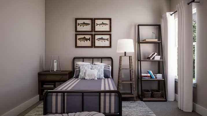 Bedroom featured in the Logan By Tri Pointe Homes in Dallas, TX