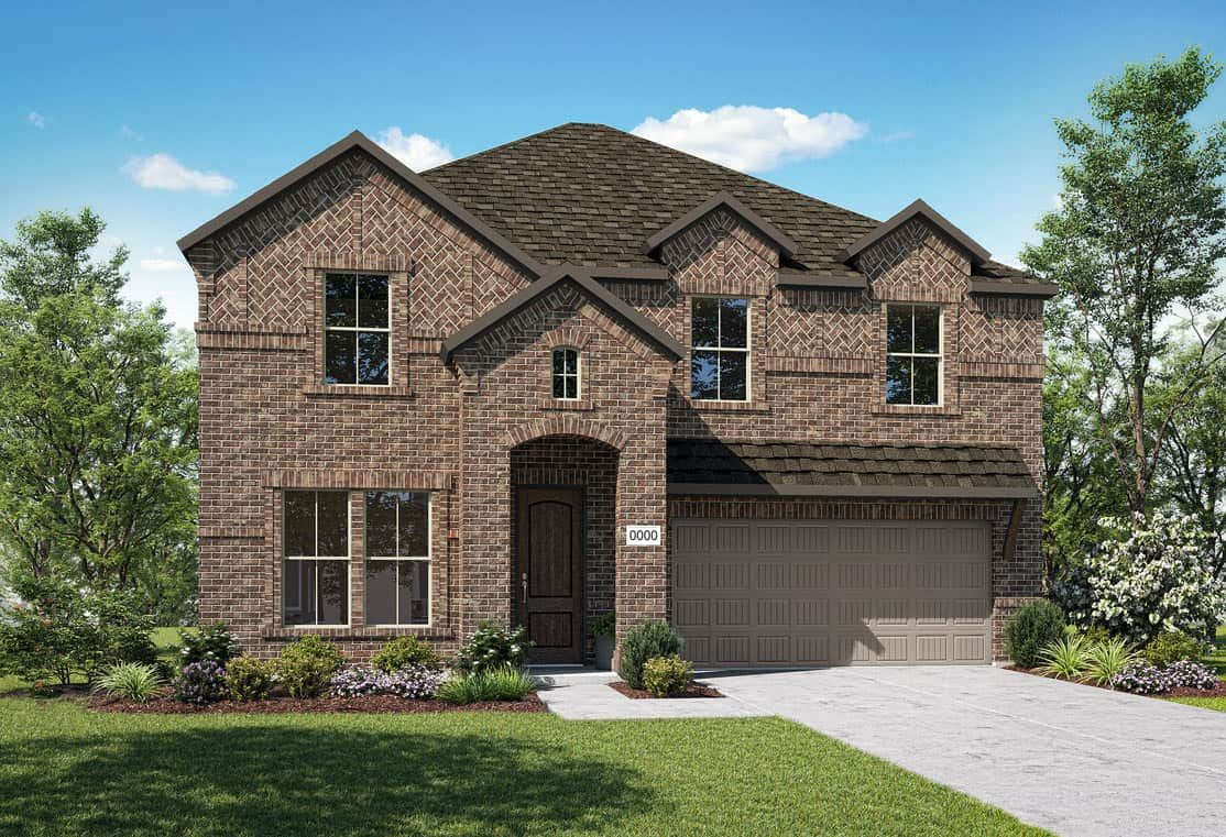 Exterior featured in the Ivy By Tri Pointe Homes in Fort Worth, TX