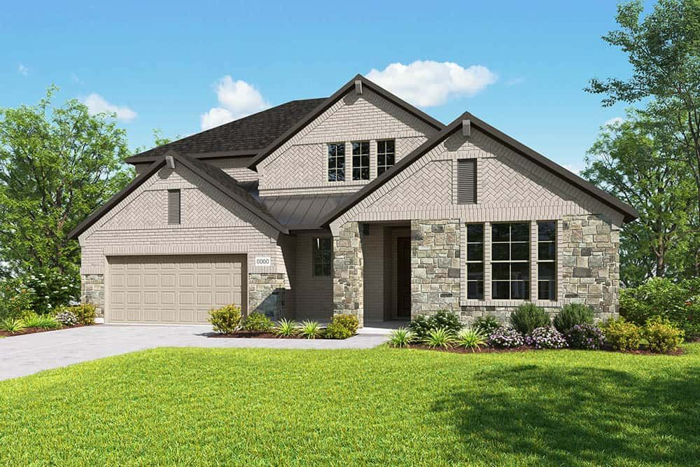 Exterior featured in the Ethan By Tri Pointe Homes in Fort Worth, TX