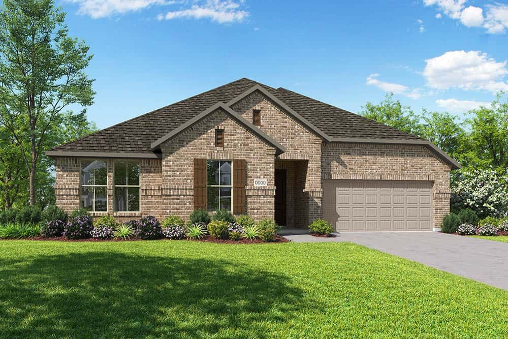 Exterior featured in the Carson By Tri Pointe Homes in Dallas, TX