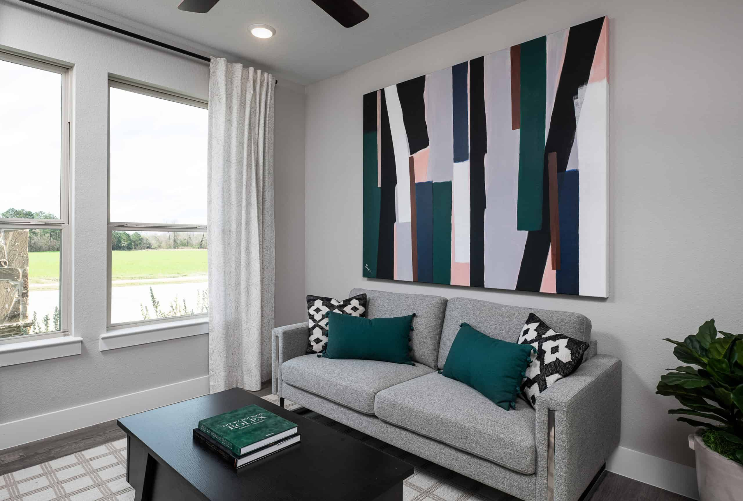 Living Area featured in the Annabelle By Tri Pointe Homes in Fort Worth, TX