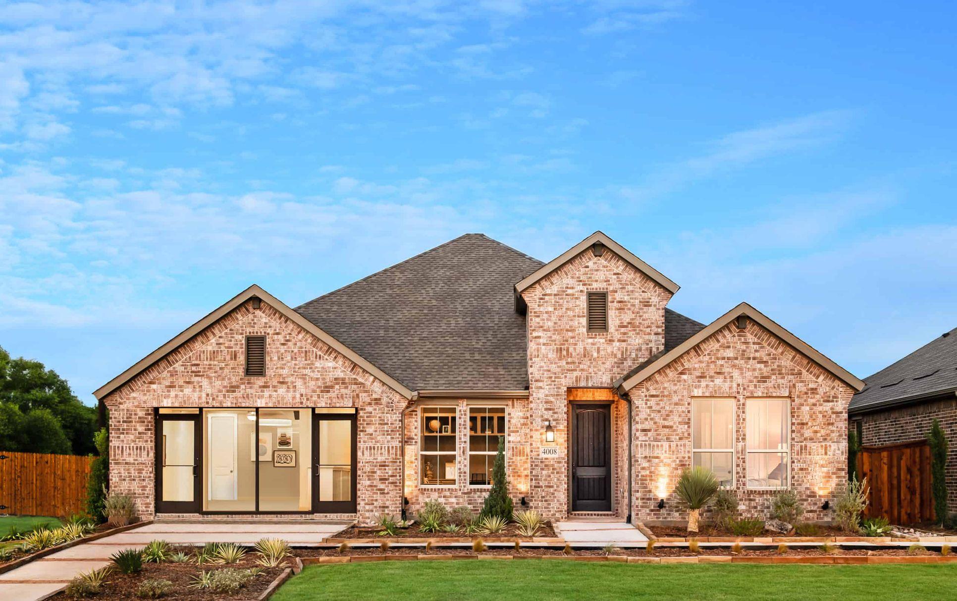 Exterior:Brayden Model Home