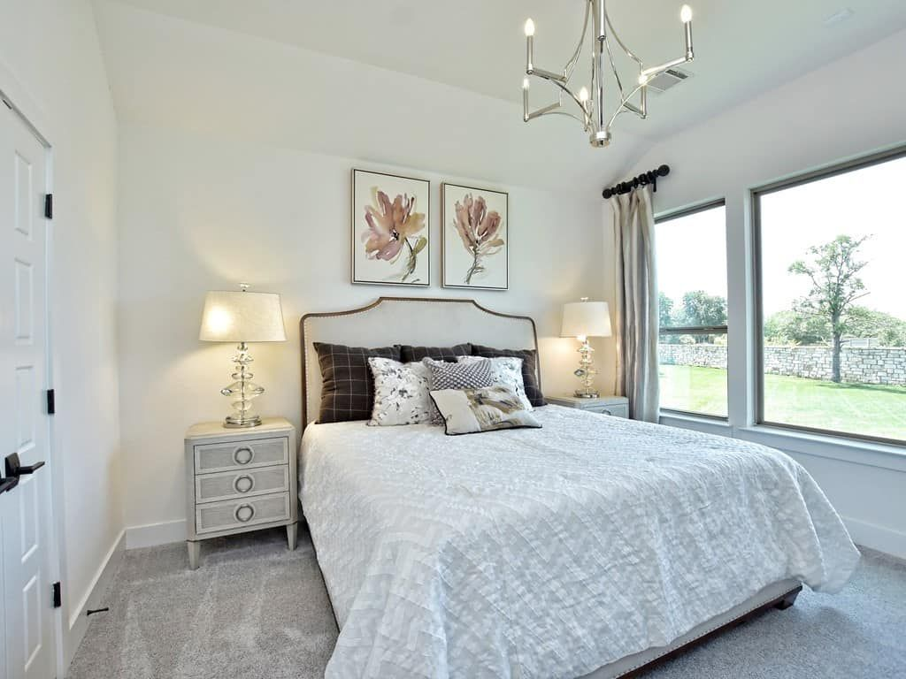 Bedroom featured in the Meridian By Tri Pointe Homes in Austin, TX