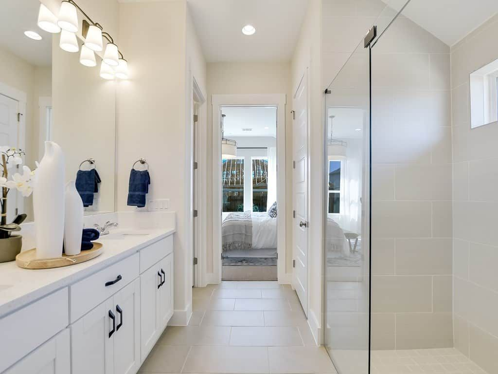 Bathroom featured in the Clebourne By Tri Pointe Homes in Austin, TX