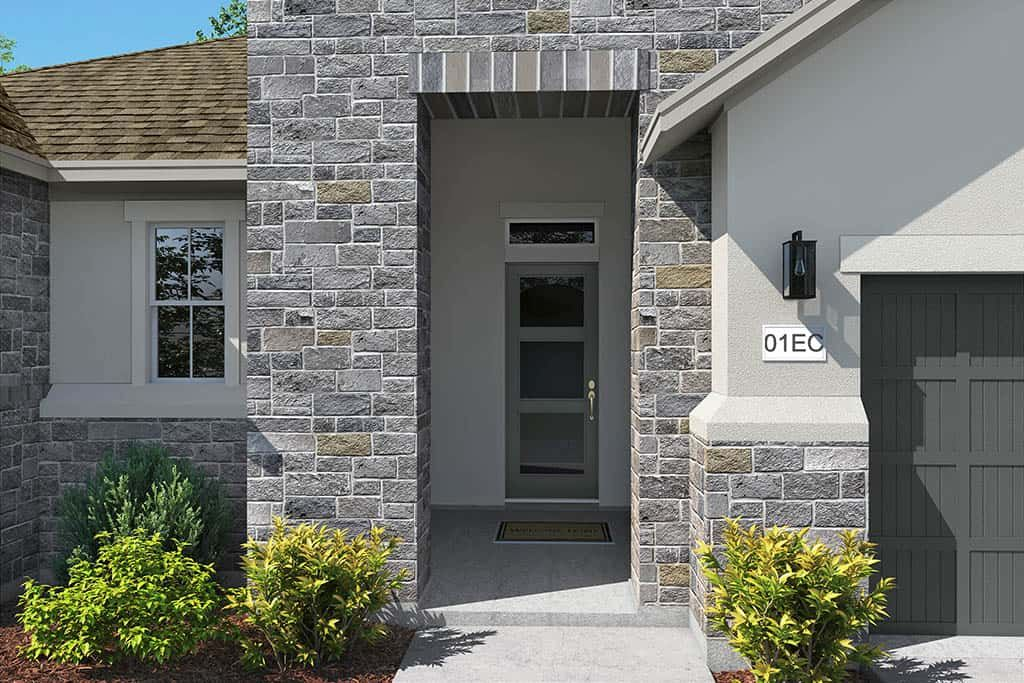 Exterior featured in the Burnet By Tri Pointe Homes in Austin, TX