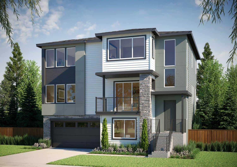 'Hazelwood Gardens' by Tri Pointe Homes Washington in Seattle-Bellevue