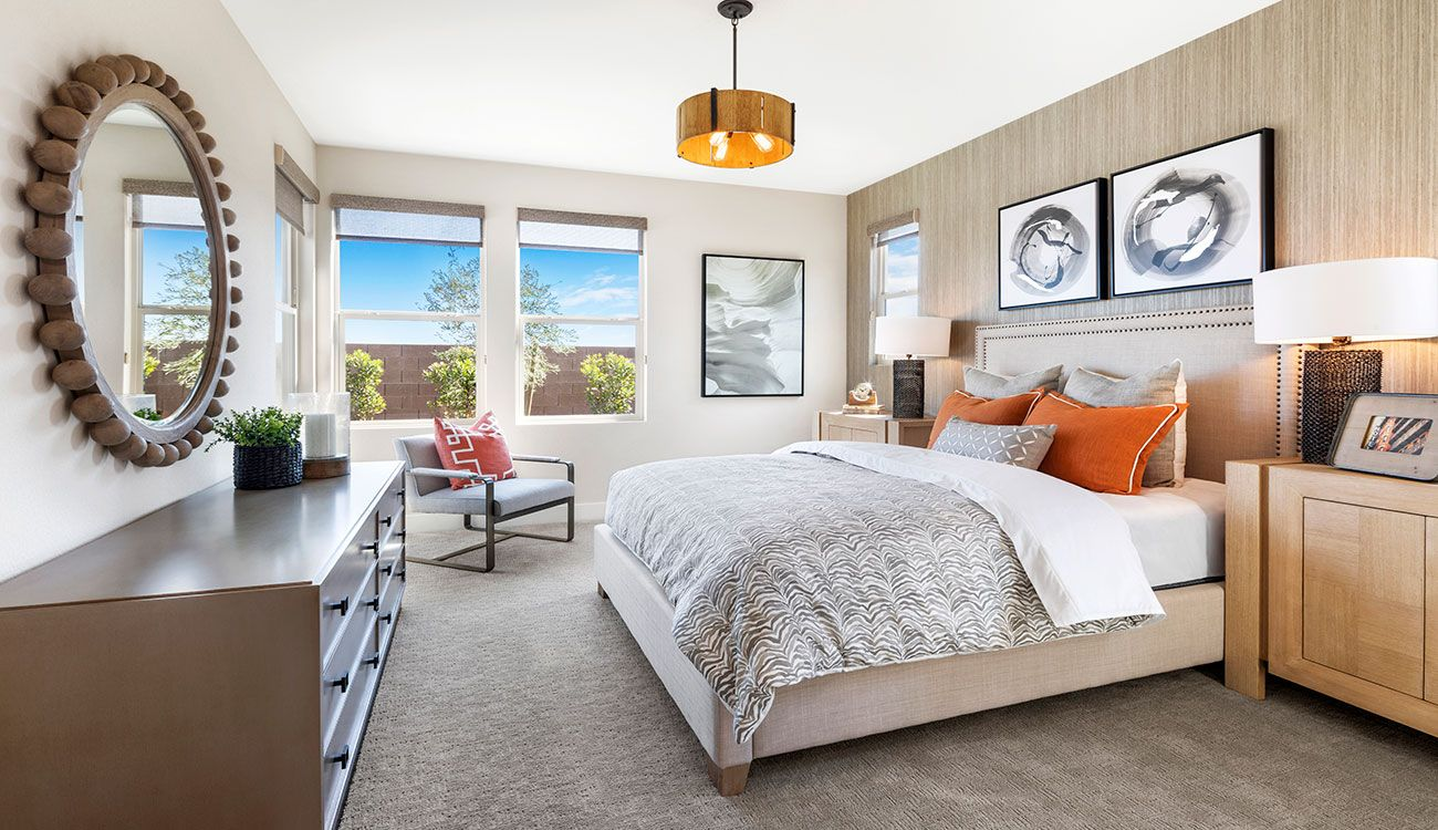 Bedroom featured in the Plan 2 By Tri Pointe Homes in Las Vegas, NV