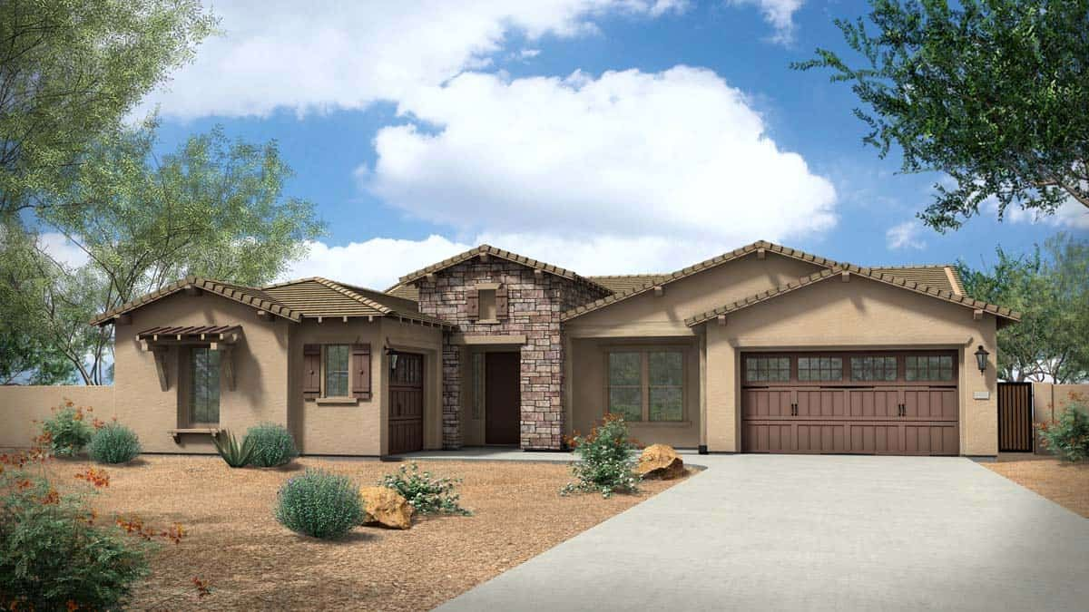 MH-residence-meadows-estates-pinnacle-6531-ranch-C:Elevation C - Ranch