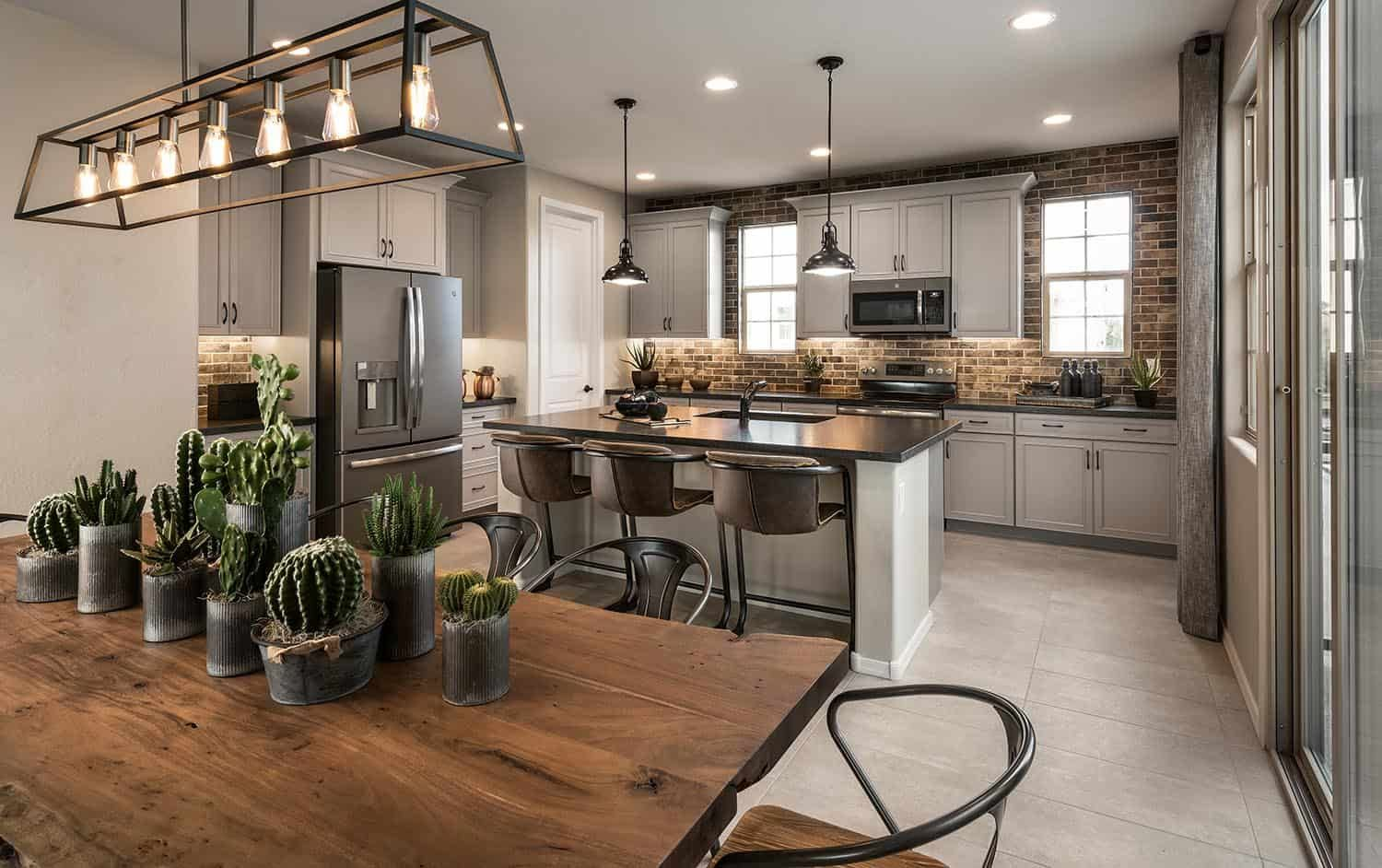 Kitchen featured in the Residence 6 By Tri Pointe Homes in Phoenix-Mesa, AZ