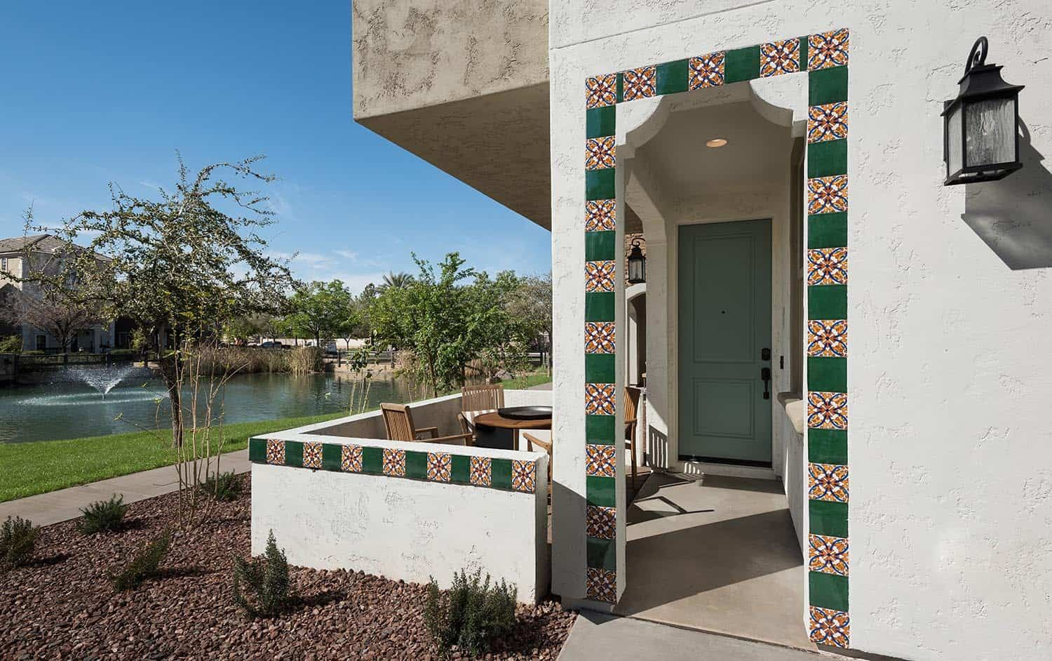 Exterior featured in the Residence 5X By Tri Pointe Homes in Phoenix-Mesa, AZ