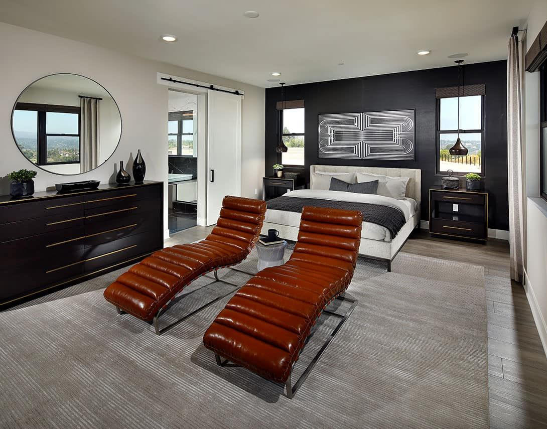 Bedroom featured in the Plan 3 By Tri Pointe Homes in San Diego, CA