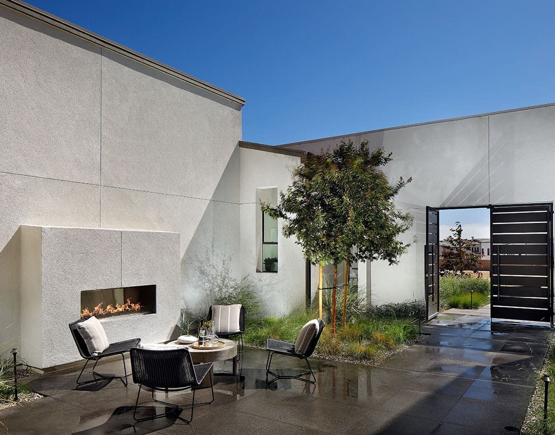 Exterior featured in the Plan 2 By Tri Pointe Homes in San Diego, CA
