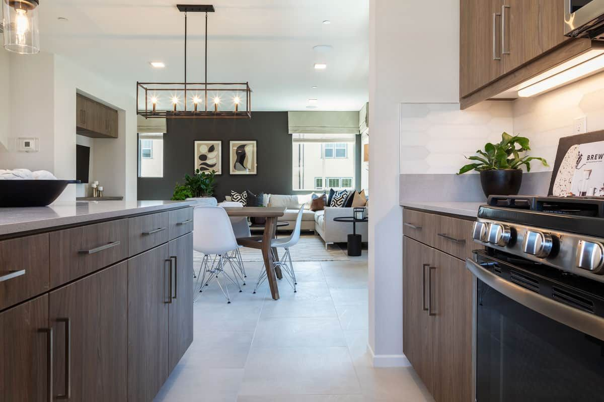 Kitchen featured in the Plan 5 By Tri Pointe Homes in San Diego, CA